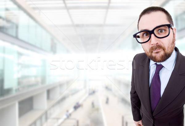 silly man Stock photo © zittto