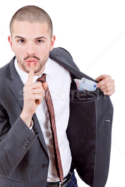man with money Stock photo © zittto