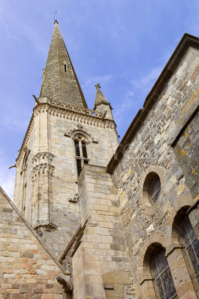 st malo cathedral Stock photo © zittto