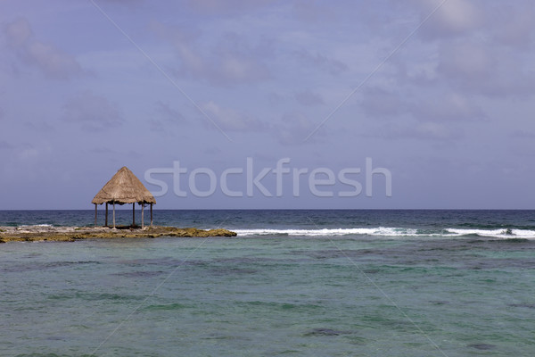 wooden house Stock photo © zittto