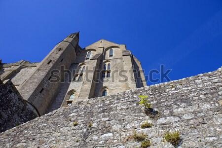 Mosteiro cidade rocha castelo arquitetura Foto stock © zittto
