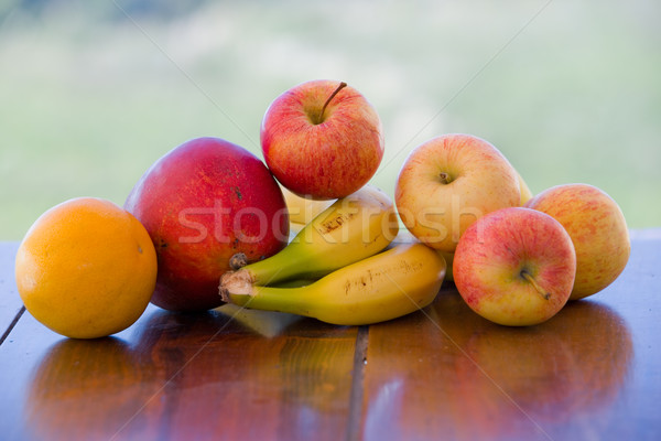 variety of fruits Stock photo © zittto