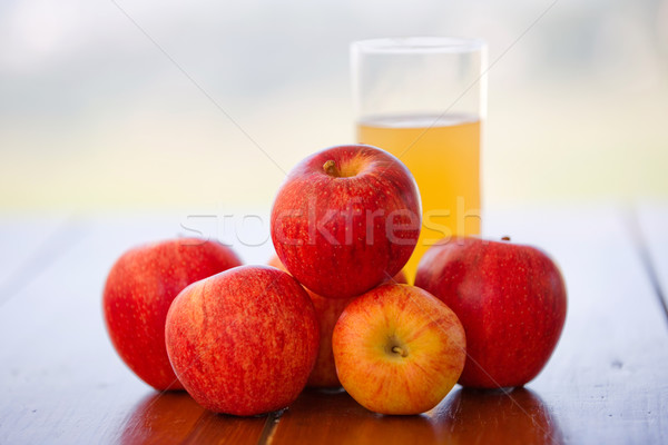 fruits and juice Stock photo © zittto
