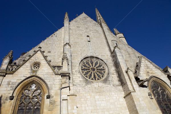 Niort church Stock photo © zittto