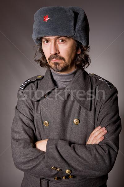 russian military Stock photo © zittto