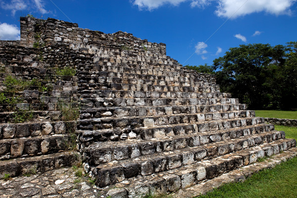 Eski şehir seyahat taş ibadet Hint Stok fotoğraf © zittto