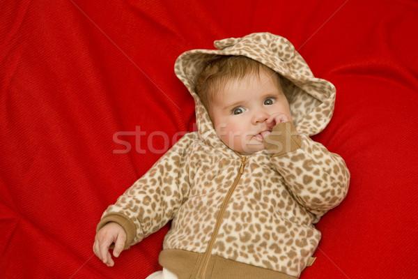 Młodych baby portret studio zdjęcie dziewczyna Zdjęcia stock © zittto
