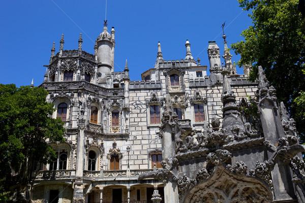 Regaleira Palace Stock photo © zittto