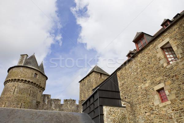 城 北 フランス 建物 世界 緑 ストックフォト © zittto