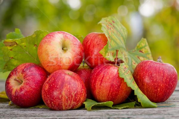 Apples Stock photo © zittto