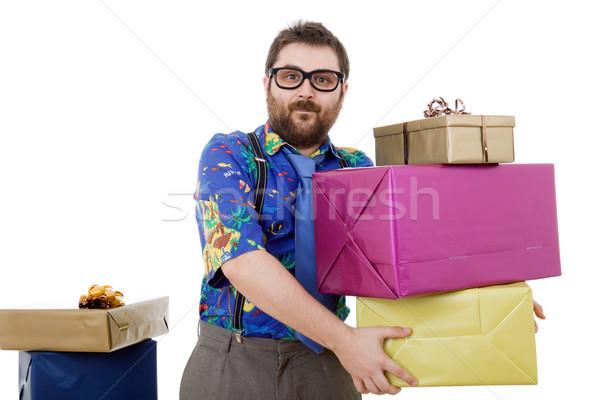 salesman Stock photo © zittto