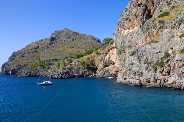 Сток-фото: Майорка · Средиземное · море · морем · побережье · Испания · горные