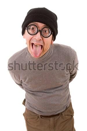 geek glasses Stock photo © zittto