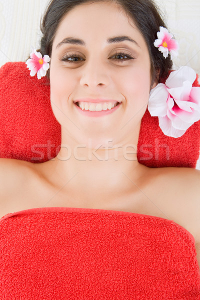 санаторно-курортное лечение красивой красоту Spa женщины Сток-фото © zittto