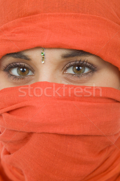 woman with a veil Stock photo © zittto