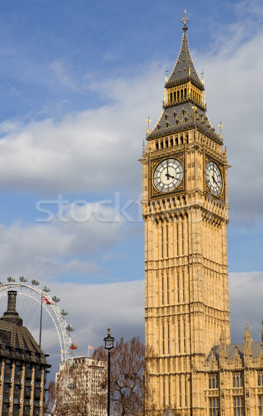 Big Ben Londres horloge westminster ville bâtiment Photo stock © zittto