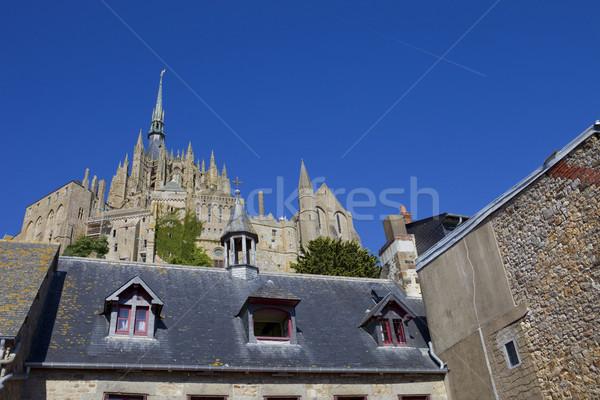Сток-фото: святой · мнение · север · Франция · город · морем