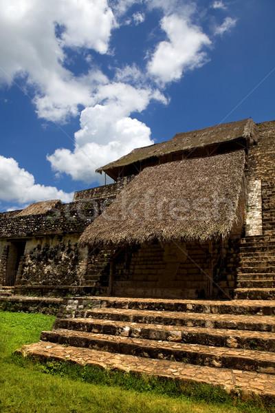 Eski şehir seyahat taş ibadet merdiven Stok fotoğraf © zittto