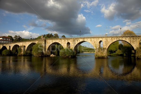 roman bridge Stock photo © zittto