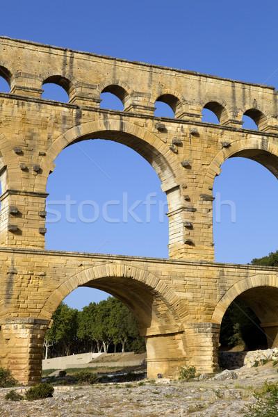 Pont du Gard Stock photo © zittto