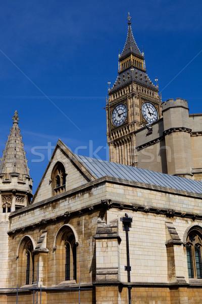 большой Бен Лондон часы Вестминстерский город здании Сток-фото © zittto