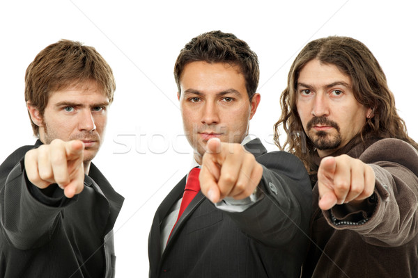 pointing Stock photo © zittto