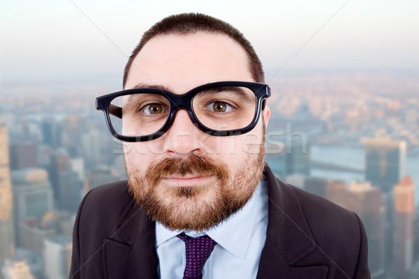 愚かな 小さな ビジネスマン 肖像 オフィス ビジネス ストックフォト © zittto