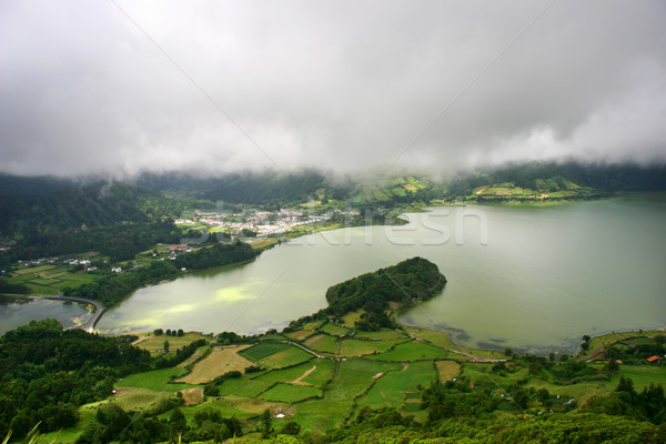 lake Stock photo © zittto