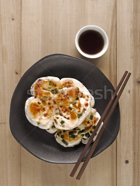 chinese scallion pancakes Stock photo © zkruger