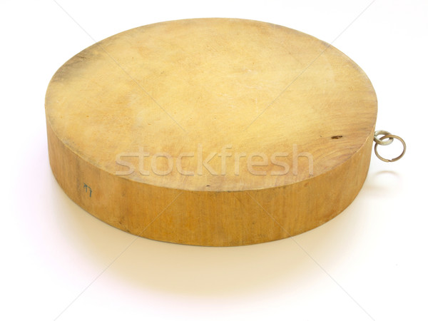 asian wooden chopping board Stock photo © zkruger