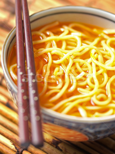 noodles in chili oil Stock photo © zkruger