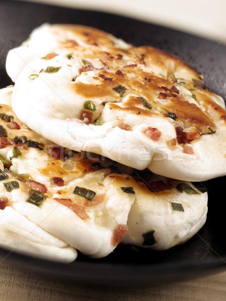 chinese scallion pancakes Stock photo © zkruger