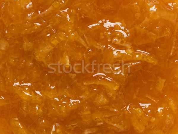 orange marmalade jam food background Stock photo © zkruger