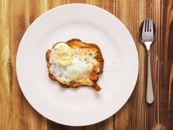 burnt breakfast Stock photo © zkruger