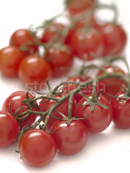 Videira tomates cereja comida vermelho cor Foto stock © zkruger