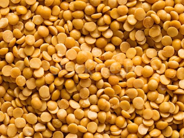uncooked indian dhal lentil ood background Stock photo © zkruger