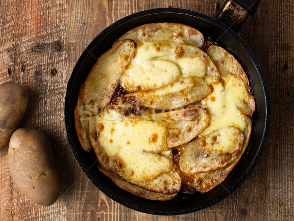 traditional english pub grub comfort food pan haggerty Stock photo © zkruger