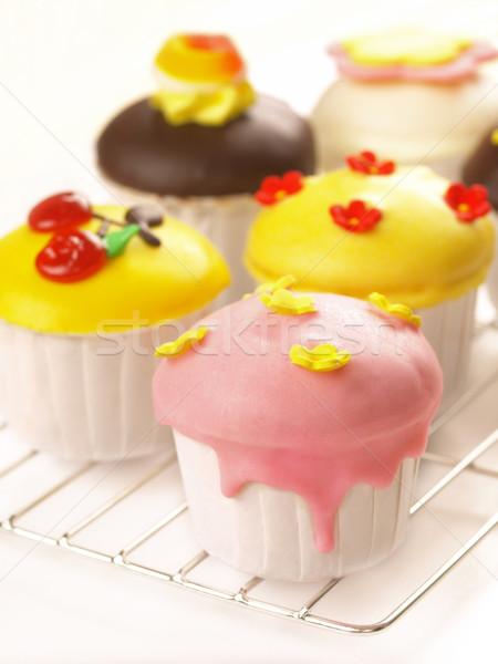 Essen Kuchen Farbe Dessert Stock foto © zkruger