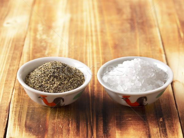 salt and pepper Stock photo © zkruger