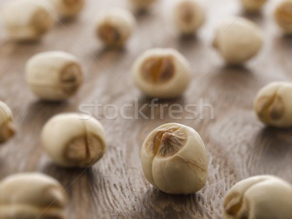 Stockfoto: Lotus · zaden · voedsel · kleur · chinese