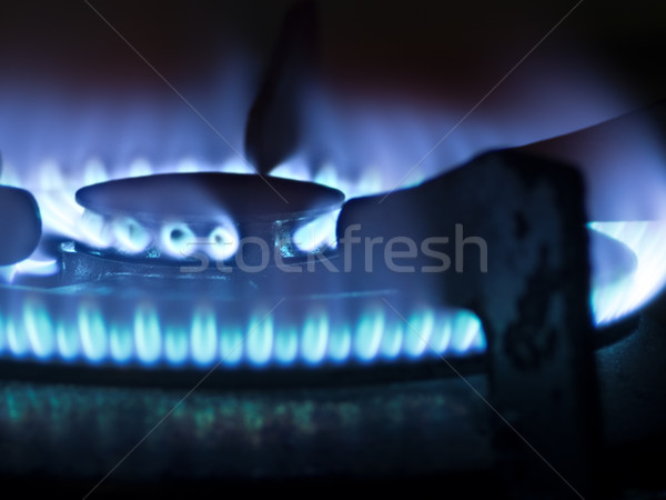 gas stove Stock photo © zkruger