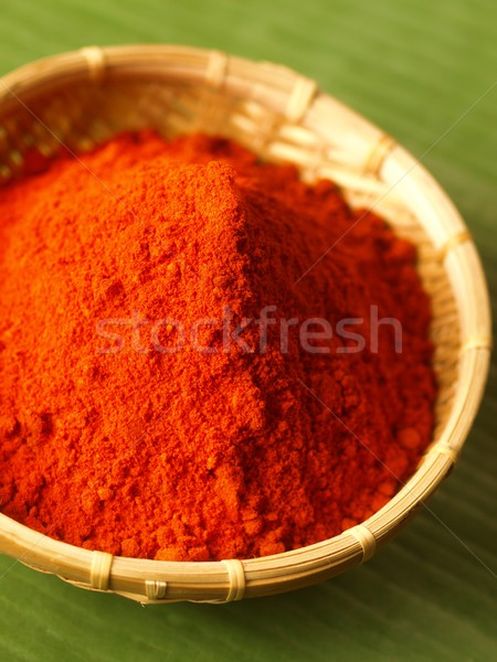 grounded chili powder Stock photo © zkruger
