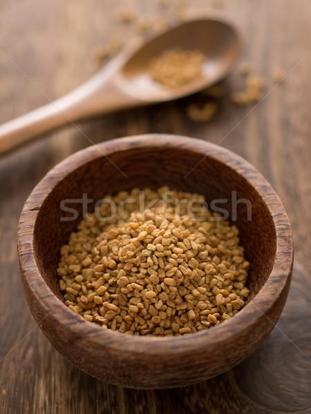fenugreek seeds Stock photo © zkruger