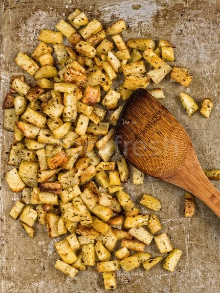 ハーブ ジャガイモ 素朴な ストックフォト © zkruger
