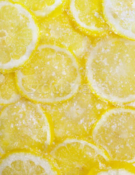 Stock photo: sugared lemons