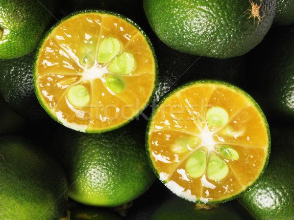 Foto stock: Frutas · verde · color · Asia · cal
