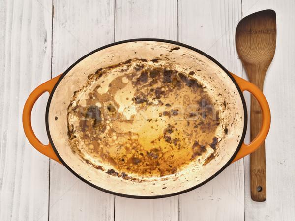 roast meat pan juices Stock photo © zkruger