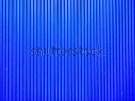 blue corrugated metal Stock photo © zkruger