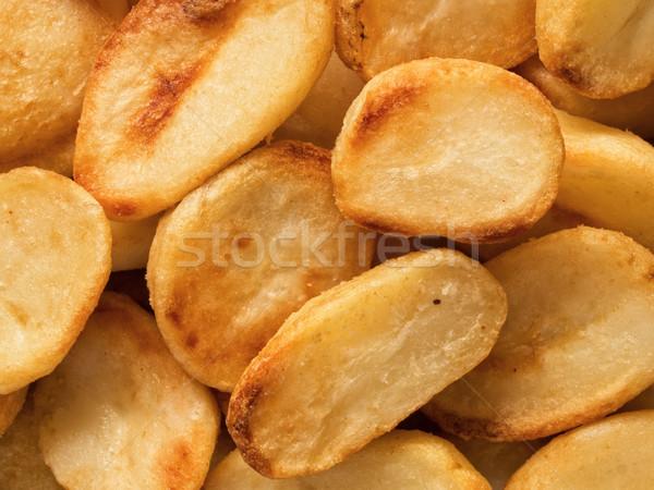 хрустящий картофеля продовольствие фон Сток-фото © zkruger
