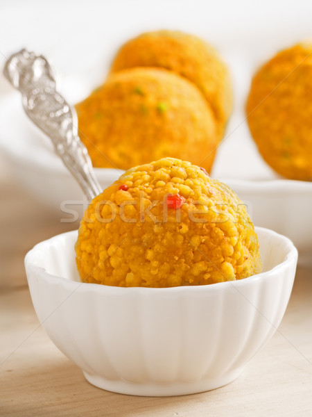 indian laddoo sweets Stock photo © zkruger